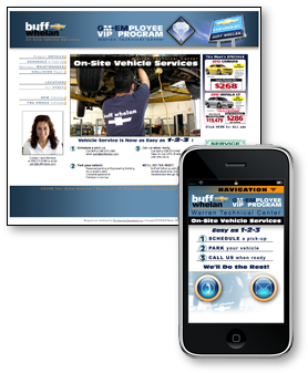 GM Tech Center Employee Vehicle Service Portal